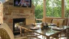 Patio Ideas Fireplace Best Outdoor