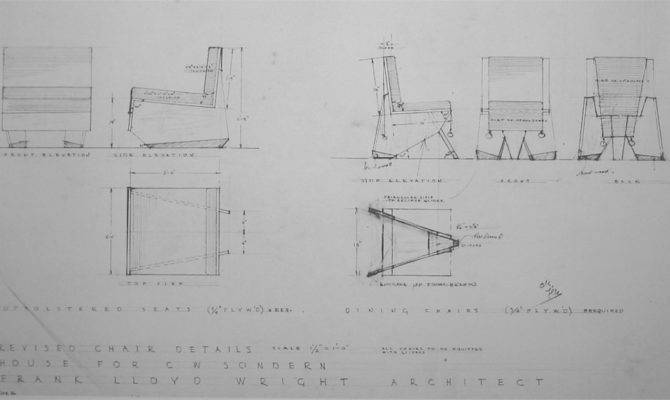 16 Pictures Frank Lloyd Wright Furniture Plans Home Building