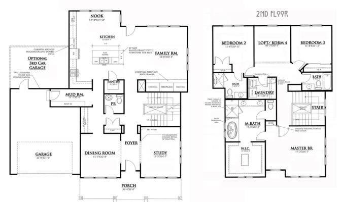 Perfect Bungalow House Floor Plans Jpeg