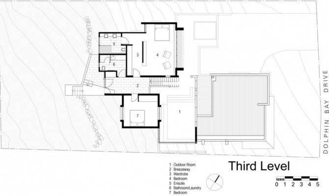Perfect Sunshine Beach House Third Floor Plan Design Two Bedrooms