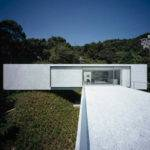 Photographs White Concrete House Construction Open Plan Interior