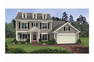 Pics Photos Affordable Story Colonial House Plan Alp