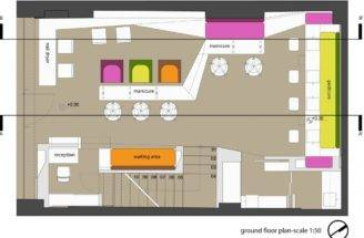 Pin Beauty Shop Floor Plans Pinterest