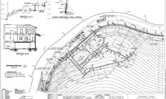 Pin Landscape Grading Plan Pinterest