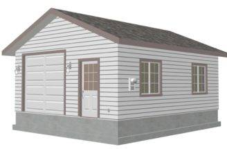 Plan Custom Garage Blueprint House