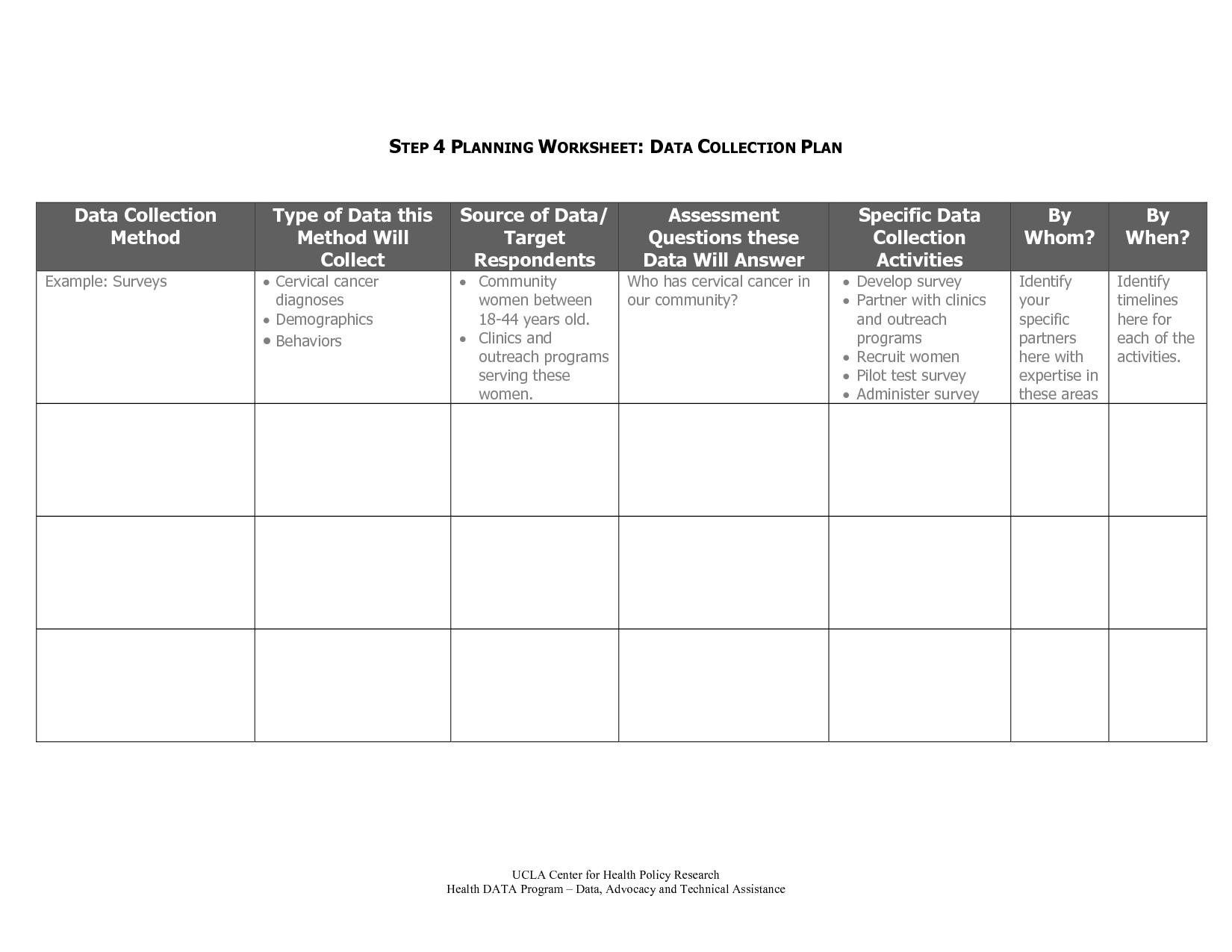 Uncategorized Step 4 Worksheet plan data collection step planning worksheet home building plans image 2 of 25 click to enlarge