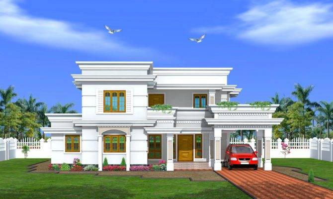 Plan Elevation Two Storey House Apartment Floor Plans