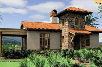 Plan One Level Vacation Home Pin