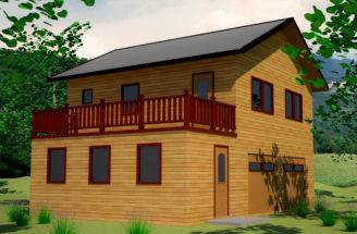 Plans Backyard Garage Apartments Building House Nidahspa