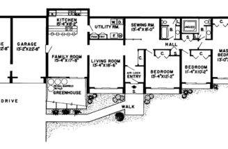 Plans Earth Berm House Home Floor