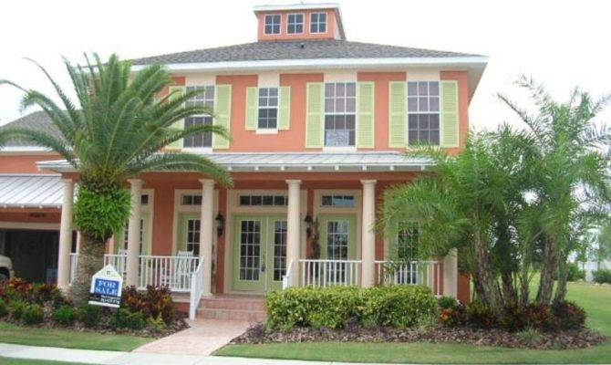 Plans Florida Style Beach House Key West Homes80010 670x400 Key West Style  Home Designs 15 PhotoFlorida Style Home 110 Days On Zillow Color Rendering  Of ...