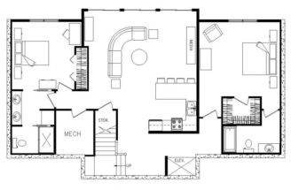 Plans Generally Speaking Ranch Home One Story House