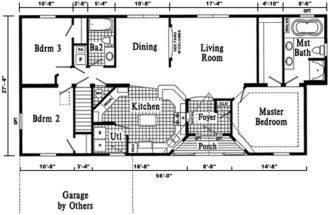 Plans Home Floors Ranch House Sims Floor