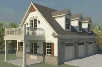 Plans Loft Garage