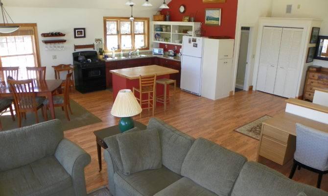 Plans Open Floor Plan Large Kitchen Living Room