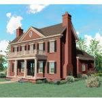 Plans Southern House Plantation