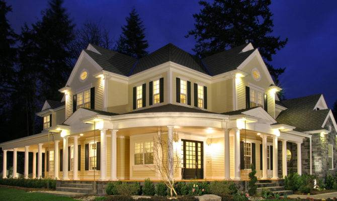 Plans Southern House Traditional Luxury