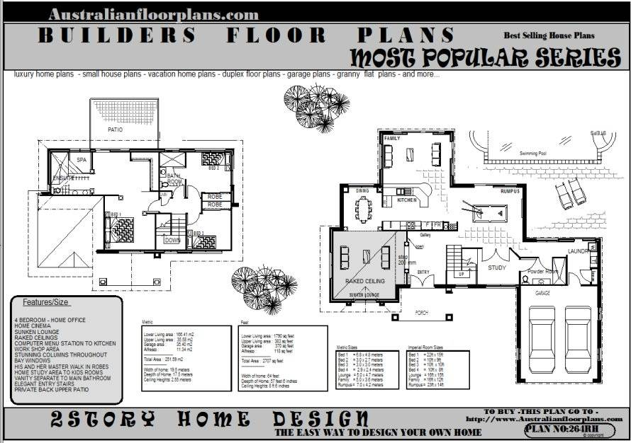 Four Bedroom Double Storey House Plan – Home Ideas Decor