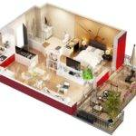 Plans Studio Apartments Floors Layout Floor