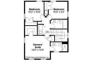 Plans Two Bedroom Design Loft Space Also Second Story