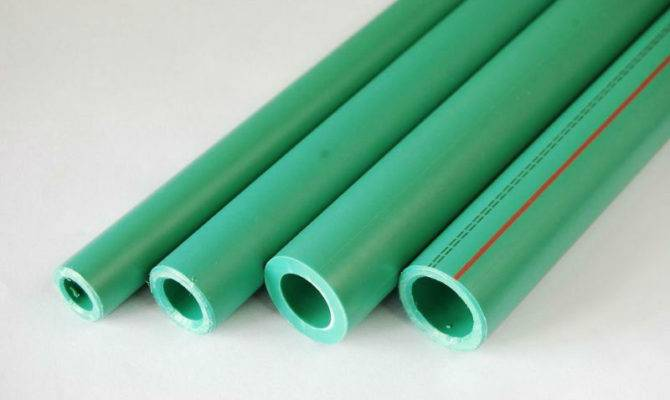 Plastic Ppr Water Pipe Cold Hot Supply