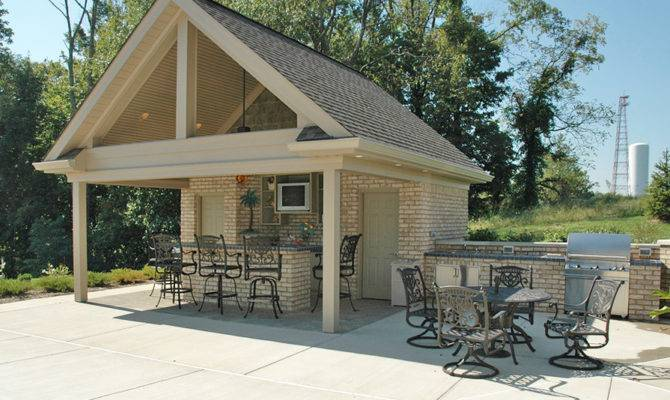 Pools House Plans Outdoor Building