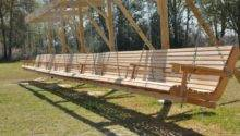 Porch Swing Support Plans