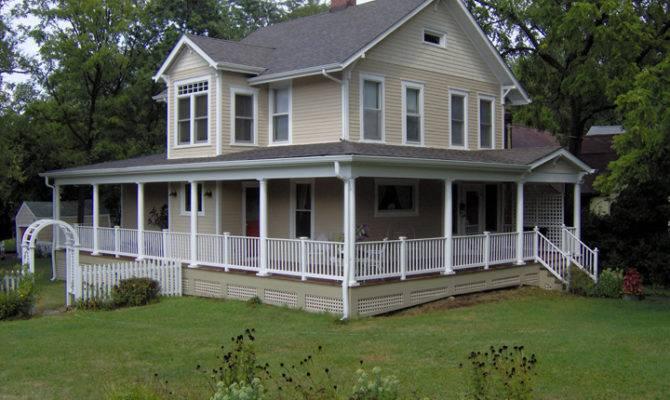 Porches Wrap Around Replicated Historic Decorative