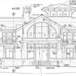 Priest Lake Waterfront Home Autocad Construction Drawing