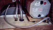 Propane Water Heater Right Lower Hose Supply
