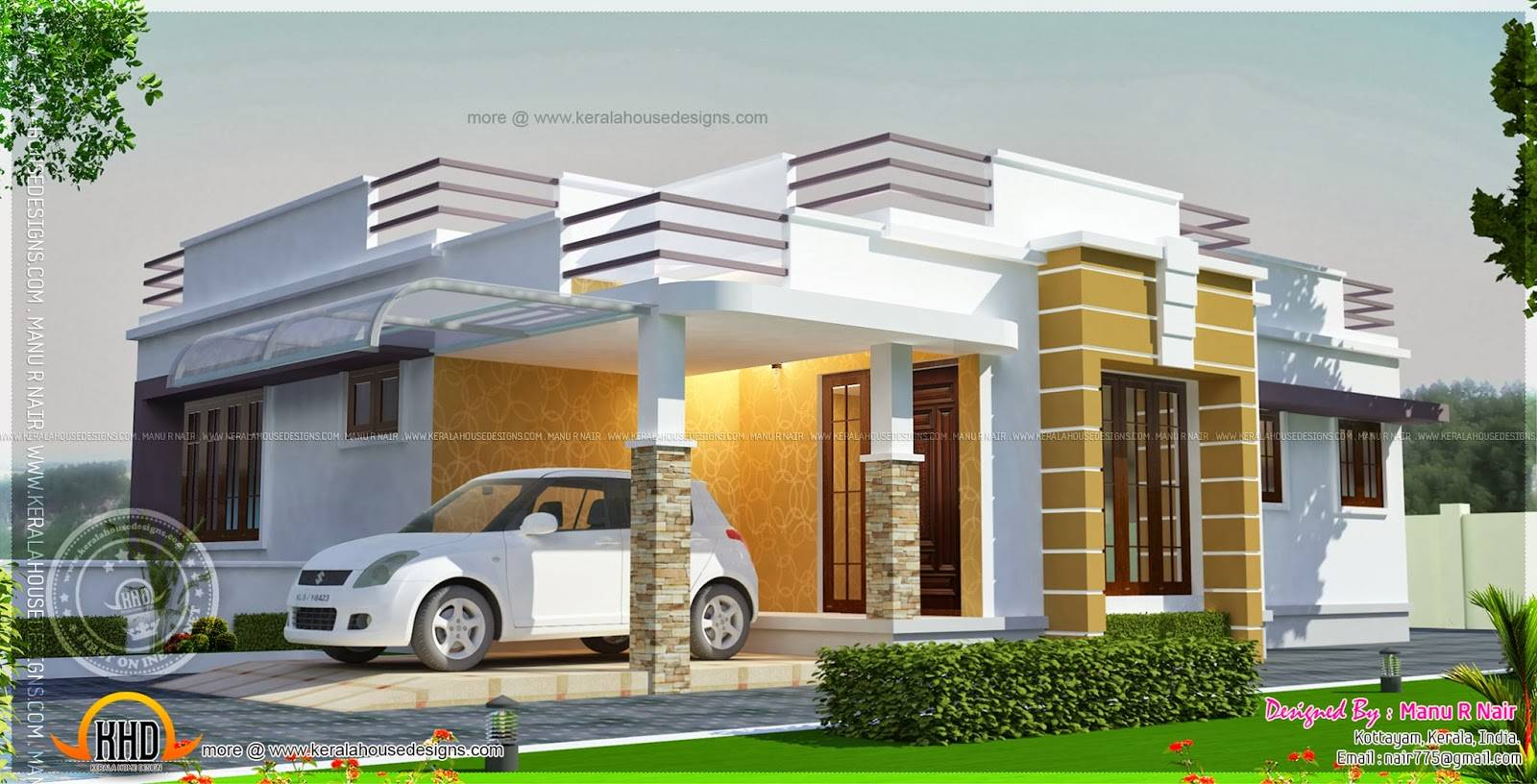 the best parapet house plans home building plans parapet roof home design - Home Design Gallery