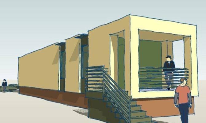 Proposed Modern Shotgun House Small Pinterest