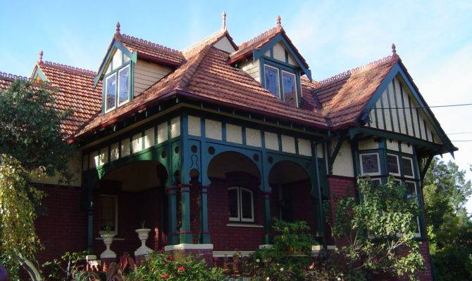 Queen Anne Style House Ivanhoe Victoria Wikimedia