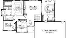 Ranch Home Plans Open Floor