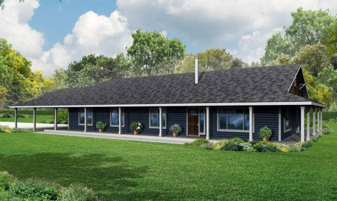 Ranch House Plan Home Madrone Country