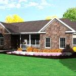 Ranch House Plan Single Level One Story