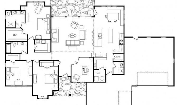 Ranch House Plans Home Plan Shop