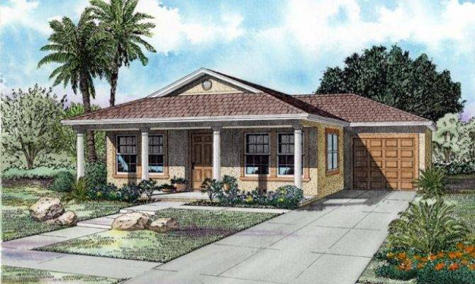Ranch House Plans One Story Front Porch
