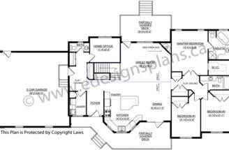 Ranch Style Bungalow Plan Designs