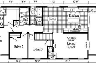 Rancher Floor Plans Ranch Home Plan
