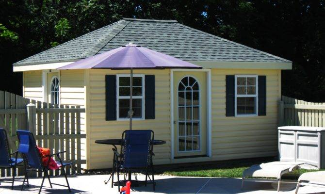 Really Nice Hip Roof Shed Plans