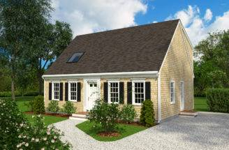 Reef Cape Cod Builders Skiff Home Plan Collections