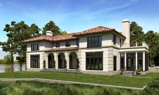 Related Mediterranean House Plans Photos