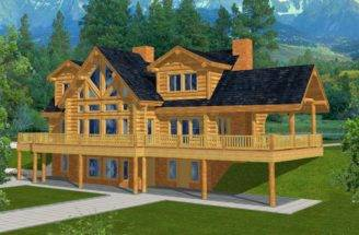 Related Mountain Home Plans Walkout Basement