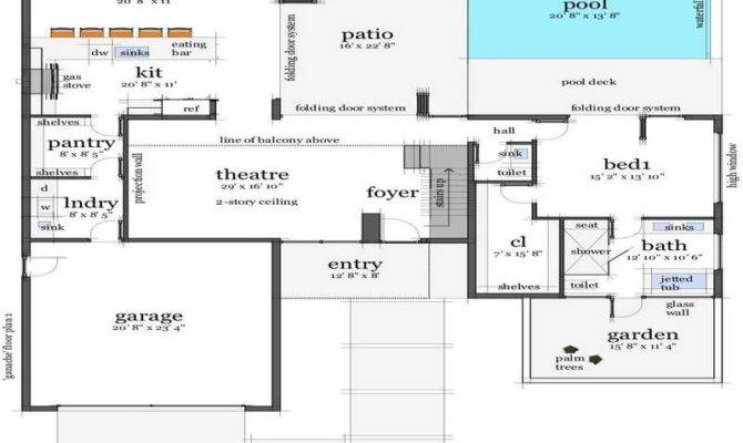 Remarkable Floor Plans Beach House Design Home