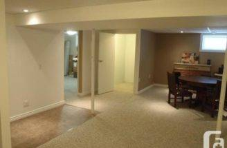Renovated One Bedroom Basement Suite Rent Utilities Include