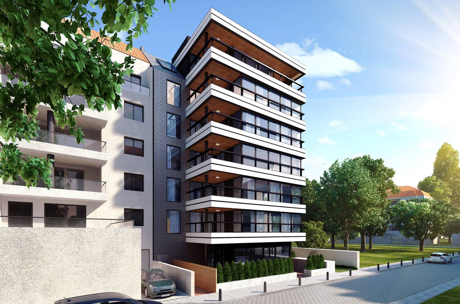 ^ esidential Building Lozenets Sofia - Home Building Plans #31715
