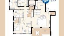 Residential Floor Plans Illustrations Sample