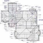 Roof Framing Plan Color Coded Pin Pinterest