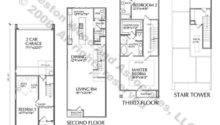 Row Houses Floor Plans House Design Bedroom Plan